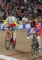 Ольга Панарина завоевала бронзу в спринте на этапе Кубка мира по велотреку в Астане