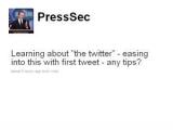 Пресс-секретарь Обамы завел микроблог на Twitter