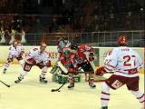 Белорусские хоккеисты разгромно проиграли датчанам и заняли последнее место на Кубке Полесья в Гомеле