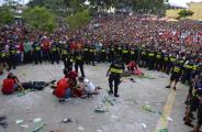Фотофакт: Фанаты сборной Коста-Рики были ранены во время просмотра четвертьфинала