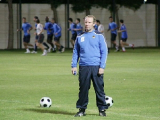 Футболисты олимпийской сборной Беларуси провели тренировку в Аль-Айне