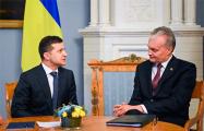 Президенты Литвы и Украины договорились поддерживать гражданское общество Беларуси