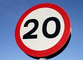 На 40 минских улицах скорость снизят до 20 км/ч