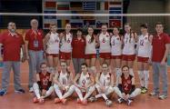 Белорусские волейболистки (U-18) вышли в полуфинал ЧЕ с первого места