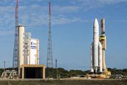 Запуск ракеты-носителя Ariane 5 отменили из-за непогоды