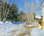 Красочность словацкой природы передана в работах юных белорусских художников на выставке в Минске