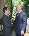 Медведев поблагодарил Лукашенко за настойчивость в вопросах интеграции