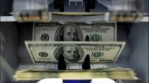 Валютные поступления по сравнению с прошлым годом снизились на $6,9 млрд