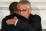 Обама назвал Хейгела образцовым министром обороны