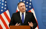 Помпео: США активно обсуждают ситуацию в Беларуси с Евросоюзом
