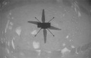 NASA показало видео первого полета вертолета Ingenuity на Марсе