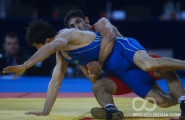 Первая сборная Беларуси заняла второе место на турнире по греко-римской борьбе памяти Олега Караваева