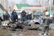 Три человека погибли при крушении вертолета Ми-24 под Пружанами