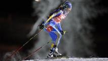 Дарья Домрачева выиграла индивидуальную гонку на первом этапе Кубка мира по биатлону в Эстерсунде