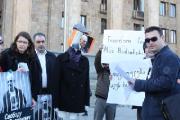 Грузинские правозащитники потребовали освобождения Алеся Беляцкого (Фото)