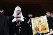 Митрополит Филарет помолился о погибших при крушении вертолета белорусской погранслужбы