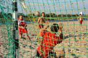 Во время тренировки гандболистов брестского БГК в Македонии на трибуне произошел взрыв