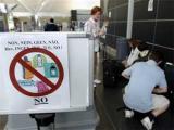 ЕС готовится продлить запрет на провоз жидкостей в самолетах