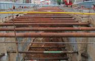 Фотофакт: как в Минске строят самую глубокую станцию метро