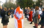Фоторепортаж: Белорусы помолились в Куропатах