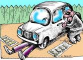 Минчанин помог пенсионеру разгрузить машину и угнал ее