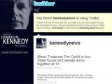 Семья Эдварда Кеннеди организовала Twitter-трансляцию его похорон