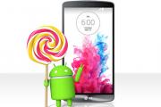 LG первой обновит свои мобильные устройства до Android 5.0