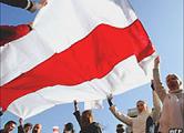 Политический протест задержал матч Беларусь-Казахстан
