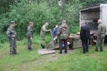Житель Барановичей спас и вырастил лосенка