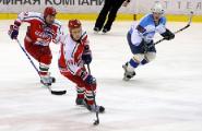 Команда Президента Беларуси обыграла дружину Могилевской области в матче Пятых республиканских соревнований по хоккею среди любителей