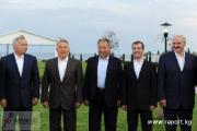 Встреча глав государств-членов ОДКБ в узком составе продолжается уже третий час