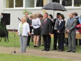 Посол Беларуси в Литве передал в Вильнюсскую библиотеку имени А.Мицкевича подборку белорусских книг