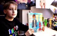 Как девятилетний гродненец удивляет всех своими стильными рисунками