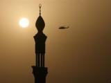 В Саудовской Аравии упал санитарный вертолет