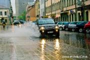 ГАИ призывает водителей быть особо внимательными на дорогах в связи с ухудшением погоды
