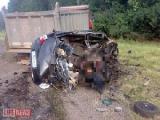 Один человек погиб и трое ранены при столкновении грузовика с легковушкой в Витебской области