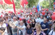 В российском Сыктывкаре около семи тысяч человек вышли на митинг