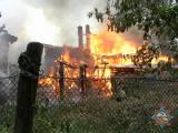 Практически в момент наступления 2012 года минские пожарные вынесли из огня двух человек