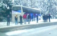 Автобус с белорусскими хоккеистами попал в ДТП