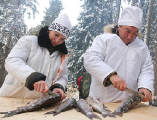 Главное рыбацкое блюдо смогут отведать могилевчане на Рождество в Печерском лесопарке