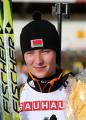 Дарья Домрачева заняла второе место в спринте на этапе Кубка мира по биатлону