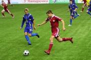 Футболисты юниорской сборной Беларуси проиграли россиянам на турнире в Санкт-Петербурге