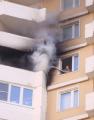 Четыре балкона минской многоэтажки загорелись из-за пиротехники