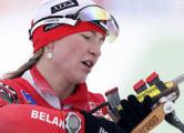Провал на ЧМ по биатлону: Домрачева пришла 43-ей