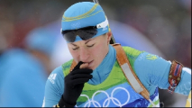 Анастасия Дуборезова заняла 8-е место в спринте на этапе Кубка мира по биатлону в Нове Место