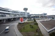 Сильный ветер не повлиял на работу Национального аэропорта Минск