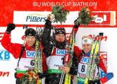 Владимир Аленишко занял 54-е место в гонке преследования на этапе Кубка мира по биатлону