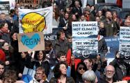 В Бельгии прошли массовые акции в защиту климата