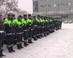 ГАИ организует сопровождение дорожной техники для максимальной уборки снега