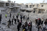 В результате бомбардировки в Алеппо погибли 44 человека